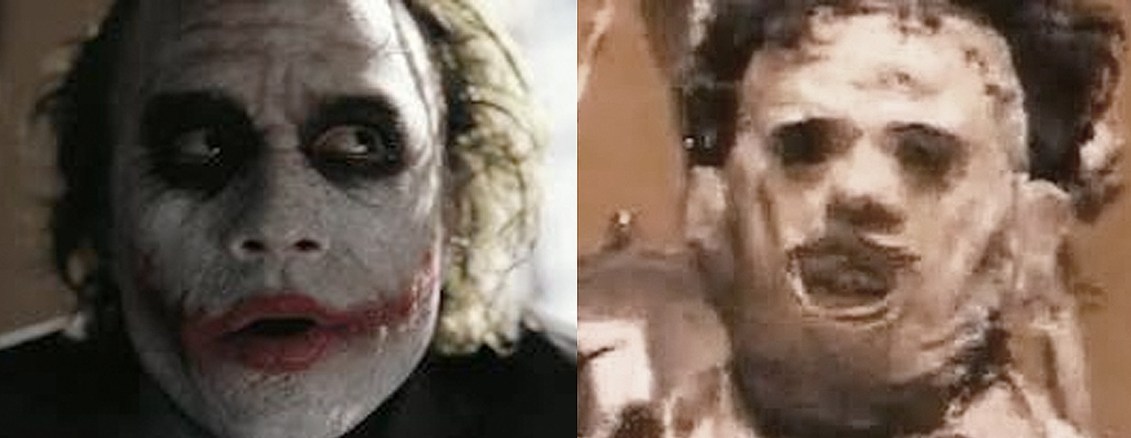 Joker and Leatherface